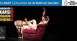 <div class='secondary-title'>Karanlığa karşı, yaşasın tiyatro!</div> Jean Paul Marat